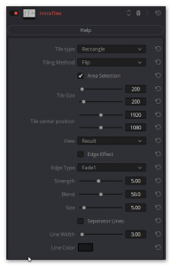 IntraTiles Plugin for Davinci Resolve, Adobe After Effects and Adobe Premiere