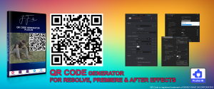 QR Code Generator Plug-in for Davinci Resolve, Adobe Premiere and Adobe After Effects (Windows Versions).