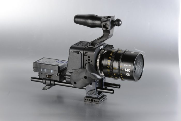 Alpa Platon Project: A rigged Hasselblad H6D 100c allowing to shoot extraordinary motion picture materials.