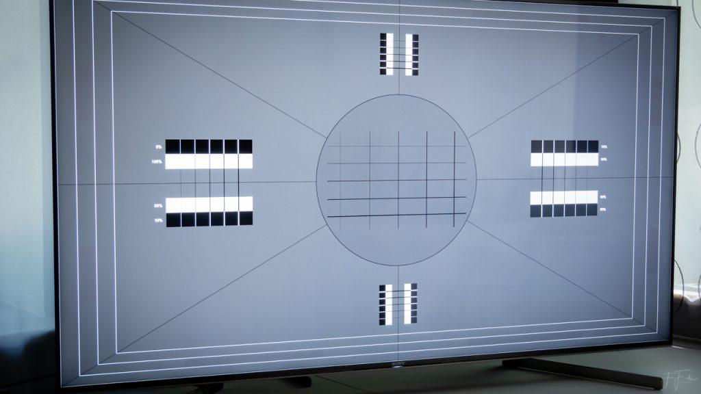 HDR Schärfeeinstellung Testbild